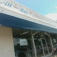 Photo taken at All Rite Plumbing Supply by Susannah A. on 6/18/2012
