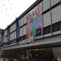 Photo taken at Karstadt by Heinrich S. on 3/13/2012