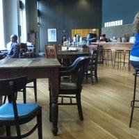 Photo taken at Awaken Cafe by Meitar M. on 3/19/2012