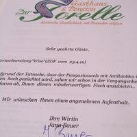"Photo taken at Gasthaus ""Zur Forelle"" by Joachim G. on 4/29/2012"