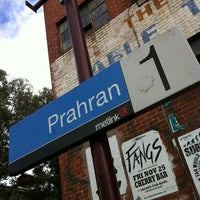 Photo taken at Prahran Station by Tom K. on 2/10/2012
