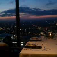 Photo taken at Sun Dial Restaurant, Bar & View by Wade S. on 2/6/2012
