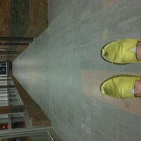 Photo taken at South Campus LRT Station by Leah E. on 4/27/2012
