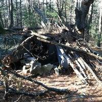 Photo taken at Hobo Hutville by Jennifer C. on 3/11/2012