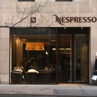 Photo taken at Nespresso Boutique Bar, Madison Ave. by Vin S. on 3/8/2012