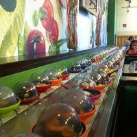 Photo taken at Okiru Running Sushi by Francis V. on 7/9/2012