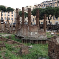 Photo taken at Largo di Torre Argentina by yuliam on 5/7/2012