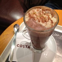Photo taken at Costa Coffee by David S. on 5/2/2012