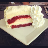 Photo taken at The Cheesecake Factory by Emily P. on 8/7/2012