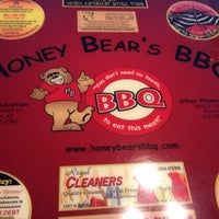 Photo taken at Honey Bear's BBQ by Arielle A. on 4/9/2012