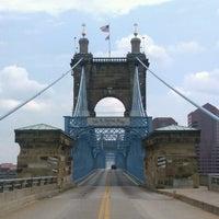 Photo taken at John A. Roebling Suspension Bridge by El Random H. on 7/23/2012