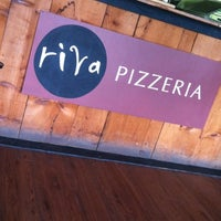 Photo taken at Riva Pizza by Brad J. on 9/9/2012