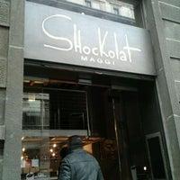 Photo taken at Shockolat by Gene C. on 2/5/2012