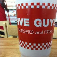 Photo taken at Five Guys by Brittney H. on 4/30/2012