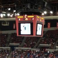 Photo taken at Veterans Memorial Coliseum by Dan C. on 3/19/2012