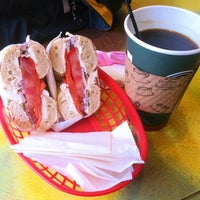 Photo taken at Market Bagel by John on 8/19/2012