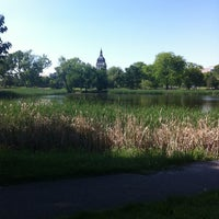 Photo taken at Loring Park by Heidi W. on 5/16/2012