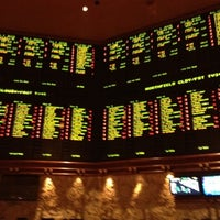 Photo taken at The Mirage Race & Sports Book by Leer G. on 5/23/2012