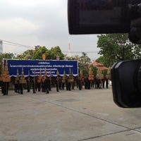 Photo taken at กองพลทหารปืนใหญ่ต่อสู้อากาศยาน (พล.ปตอ.) Air Defense Artillery Division by Seksan B. on 3/13/2012
