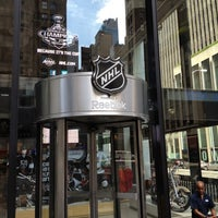 Photo taken at NHL Store Powered by Reebok by Mark K. on 8/26/2012