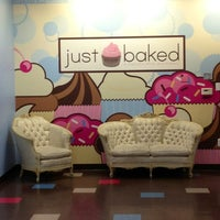 Photo taken at Just Baked by Michelle O. on 6/11/2012