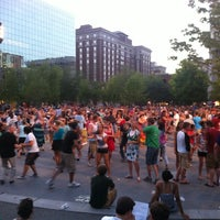 Photo taken at Rosa Parks Circle by Ken O. on 6/20/2012