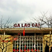 Photo taken at Ga Lào Cai (Lao Cai Station) by Manunya K. on 3/10/2012