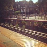 Photo taken at LIRR - Douglaston Station by Anne W. on 7/3/2012