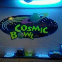 Photo taken at Cosmic Bowl by nurnadia a. on 5/25/2012