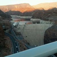 Photo taken at Mike O'Callaghan-Pat Tillman Memorial Bridge by Steven H. on 2/4/2012