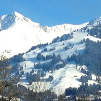 Photo taken at Bahnhof Gstaad by Nicolas B. on 2/17/2012