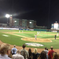 Photo taken at Northeast Delta Dental Stadium by Mike L. on 7/20/2012