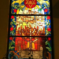 Photo taken at Temple Emanu-El by Topmics T. on 5/12/2012