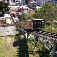 Photo taken at Angels Flight Railway by Stacey on 4/17/2012