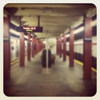 Photo taken at MTA Subway - Parsons Blvd (F) by Christina E. on 7/10/2012