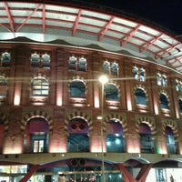 Photo taken at Arenas de Barcelona by Tetere t. on 8/18/2012