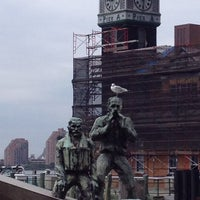 Photo taken at Ellis Island Ferry Security Queue by Corey on 9/3/2012