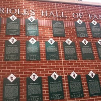 Photo taken at Sports Legends Museum at Camden Yards by Porfirio P. on 4/8/2012