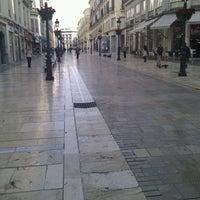 Photo taken at Marqués de Larios Street by Anaviajando on 3/23/2012