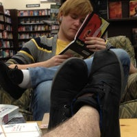 Photo taken at Barnes & Noble by Dustin H. on 3/13/2012