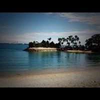 Photo taken at Palawan Beach by Irene on 4/1/2012