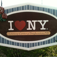 Photo taken at New York Welcome Center by Trucker D. on 5/23/2012