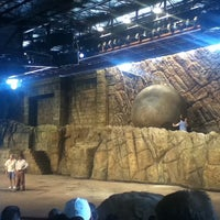 Photo taken at Indiana Jones Epic Stunt Spectacular! by Pablo M. on 6/2/2012
