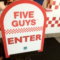 Photo taken at Five Guys by Wesley C. on 8/3/2012