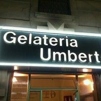 Photo taken at Gelateria Umberto by Enrico M. on 7/6/2012
