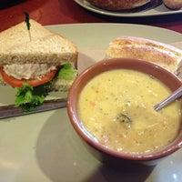 Photo taken at Saint Louis Bread Co. by Ashley L. on 5/31/2012