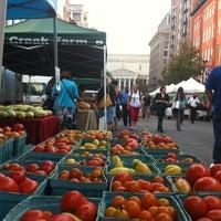 Photo taken at Penn Quarter FRESHFARM Market by Tammy G. on 9/6/2012