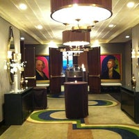Photo taken at Kimpton Hotel Palomar Philadelphia by Joe W. on 6/16/2012