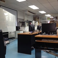 Photo taken at Mechatronics @ Kmutnb by Krit on 9/4/2012