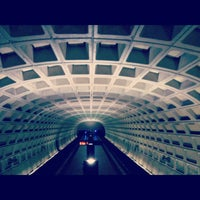 Photo taken at Capitol South Metro Station by Nathan B. on 6/5/2012